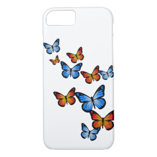 Fire and Ice Butterflies iPhone 7 Case