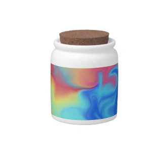 Fire and Ice Candy Jar