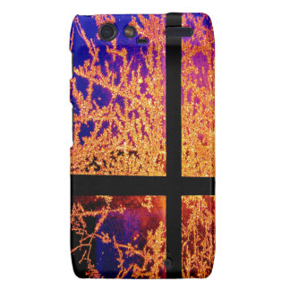 Fire and Ice Droid RAZR Cover