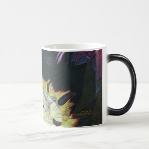 Fire and Ice Color Morphing Mug