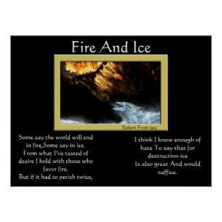 Fire And Ice Dragon Posters 2
