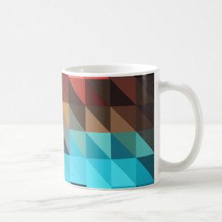 Fire and Ice Geometric Mugs