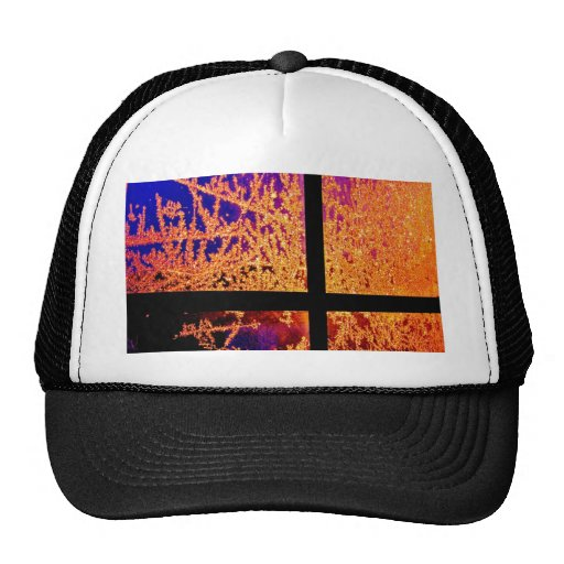 Fire and Ice Trucker Hats