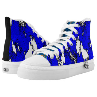 Fire and Ice High Tops