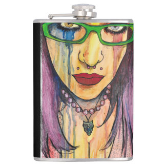 Fire And Ice Hip Flask