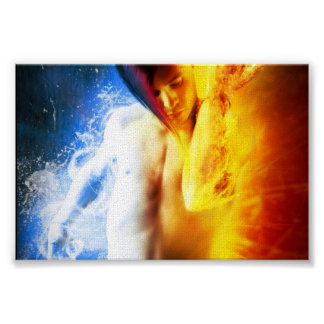Fire And Ice Male Poster