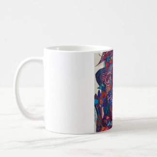 "'""Fire and Ice"" mug"