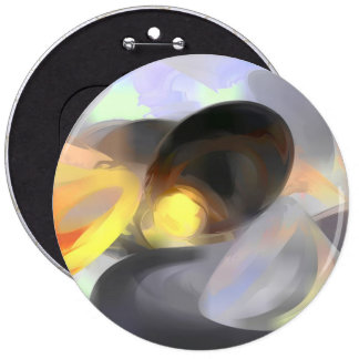 Fire and Ice Pastel Abstract Buttons