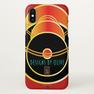 Fire and Ice phone case