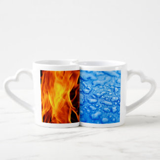 Fire and Ice Lovers Mug Sets