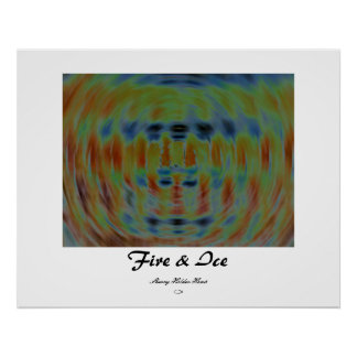 Fire and Ice Print