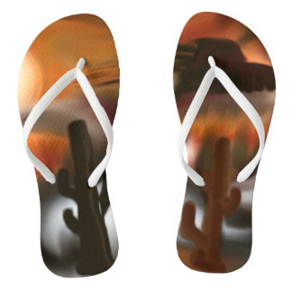 Fire and Ice Southwest Abstract Art Thongs