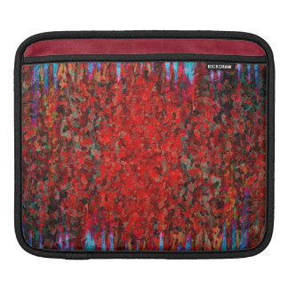 Fire and ice texture sleeve for iPads