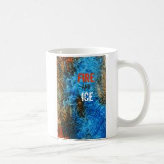 'Fire and Ice' Watercolor coffee mug by unASLEEP