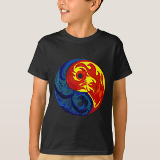 Fire and Ice Yin-Yang T Shirt