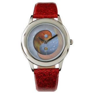Fire and Ice Yin Yang Wrist Watch