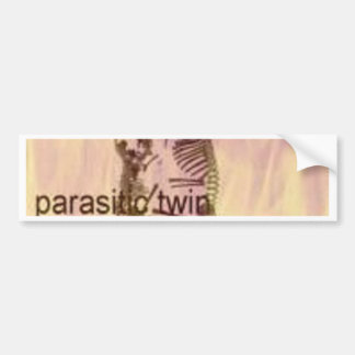 Fire and Parasite Bumper Sticker