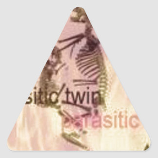 Fire and Parasite Triangle Stickers