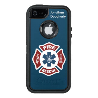 Fire and Rescue OtterBox Defender iPhone Case