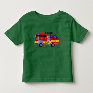 Fire and Rescue Toddler Shirt