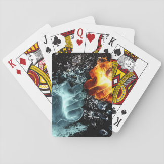 Fire and Water Playing Cards