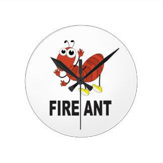 fire ant butt wallclock