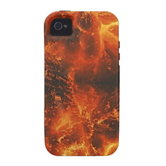 Fire Art Texture TPD Case-Mate iPhone 4 Covers
