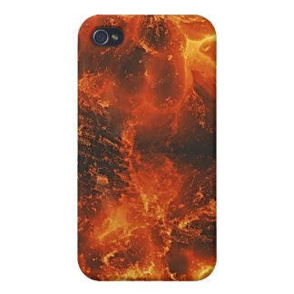 Fire Art Texture TPD Covers For iPhone 4