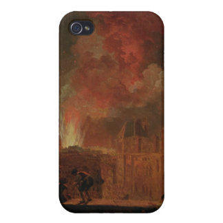 Fire at the Opera of the Palais-Royal iPhone 4 Cover
