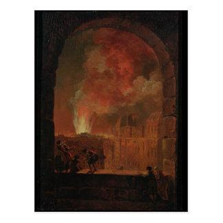 Fire at the Opera of the Palais-Royal Postcard
