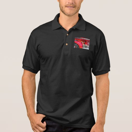 Fire Axe and Hose Polo T-shirts