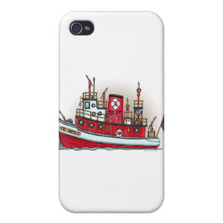 Fire Boat Cover iPhone 4/4S Cover