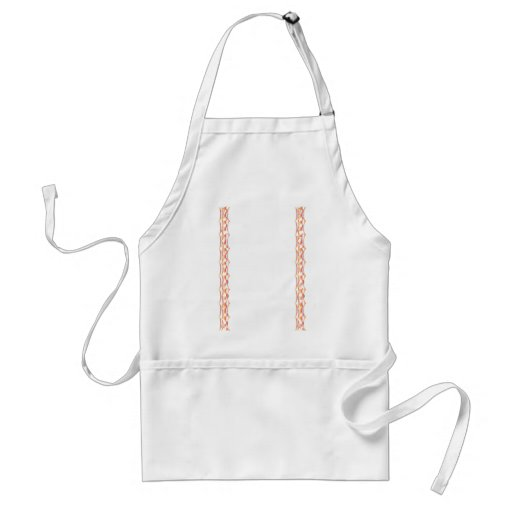 Fire Border - Modern Embroidery Aprons