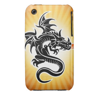 Fire breathing dragon Case-Mate iPhone 3 case