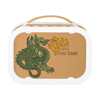 Fire Breathing Dragon Lunch Box