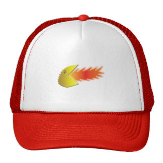 Fire-Breathing Head Graphic Hat