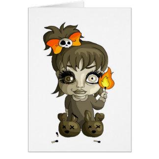 Fire Bug Greeting Card