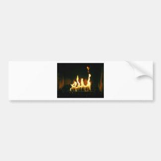 Fire Bumper Sticker