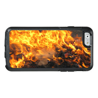 Fire Burning Photo OtterBox iPhone 6/6s Case