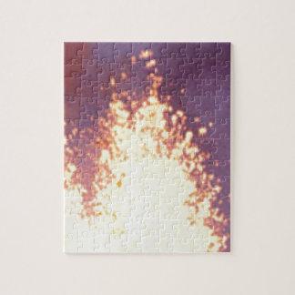 fire burst jigsaw puzzle