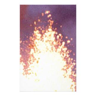 fire burst stationery