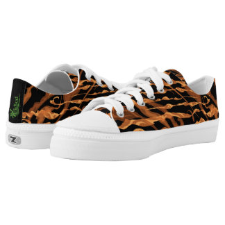 Fire Canvas Sneakers