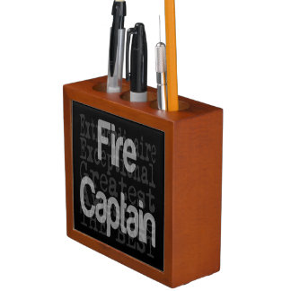 Fire Captain Extraordinaire Desk Organiser