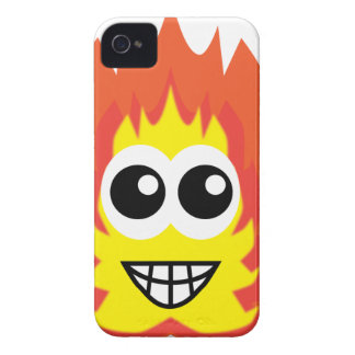 Fire Cartoon Case-Mate iPhone 4 Case