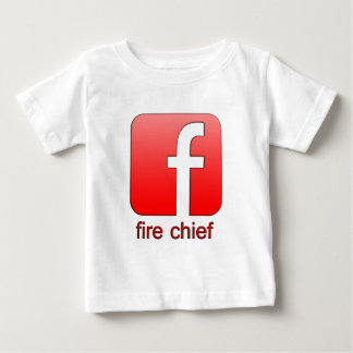 Fire Chief Facebook Logo Unique Gift Template Shirts