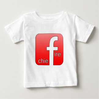 Fire Chief Facebook Logo Unique Gift Tshirts