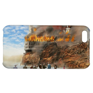 Fire - Cliffside fire 1907 iPhone 5C Case