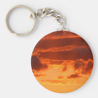 Fire Clouds Keychain