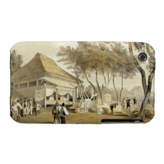 Fire Company's House and Engine, Yokuhama, from 'N iPhone 3 Case-Mate Cases