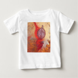 Fire Dance abstract oil painting Baby T-Shirt